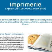 imprimerie'