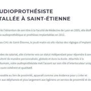 accueil audition 42