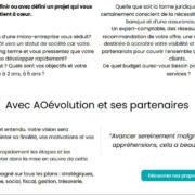 AO évolution entrepreneurs