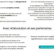 AO évolution développement